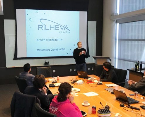 Rilheva in Silicon Valley